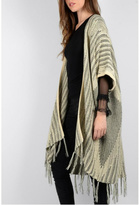 Molly Bracken Oversized Poncho Cardigan