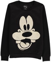 Little Eleven Paris Goofy Embroidered Sweatshirt