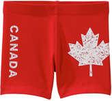 Joe Fresh Toddler Girls' Canada Active Bike Short, Red (Size 5)
