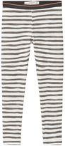 MANGO Girls Printed cotton leggings
