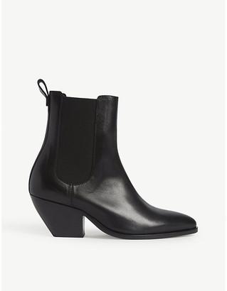 Sandro Raph cowboy ankle boots