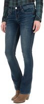 Seven7 Stud & Stone Knit Jeans - Slim Fit, Bootcut (For Women)