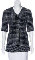 Chanel Metallic Tweed Jacket w/ Tags