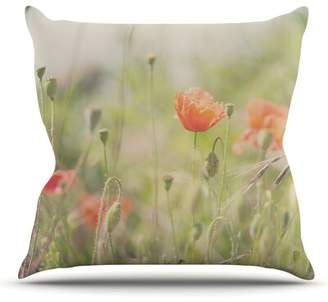 "Evans East Urban Home Fields of Remembrance by Laura Throw Pillow East Urban Home Size: 16"" H x 16"" W"