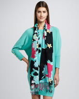 Lilly Pulitzer Murfee Floral-Print Scarf