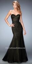 La Femme Kimberely Sweetheart Prom Dress