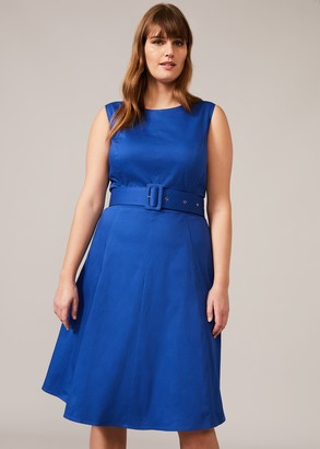 Phase Eight Blair Belted Fit And Flare Dress