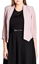 City Chic Plus Size Women's Crop Blazer