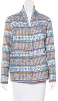 Roseanna Georges Acapulco Metallic-Accented Blazer w/ Tags