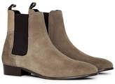 Hudson Watts Suede Chelsea Boot Grey