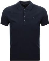 Diesel T Heal Polo T Shirt Navy