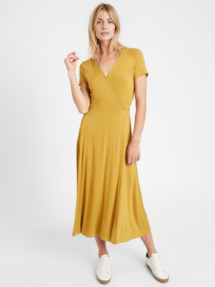 Banana Republic Knit Wrap Dress