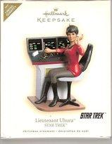 Hallmark Keepsake Limited Edition 2007 Star Trek Lieutenant Uhura Ornament