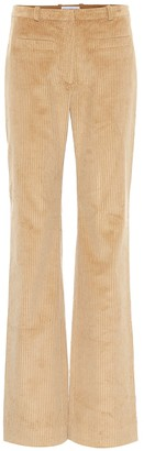 Paco Rabanne High-rise corduroy pants