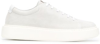 Low Brand Lace-Up 50mm Platform Sneakers