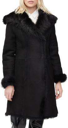 UGG Vanesa Oversized Lamb Shearling Coat