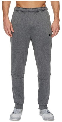 Nike Dry Training Tapered Pant (Charcoal Heather/Black) Men's Workout