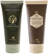 Organic Olive Shower Cream & Honey Shower Nectar (Set of 2)