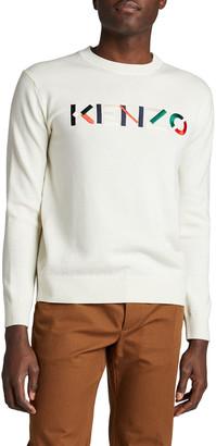 Kenzo Men's Wool Logo Sweater