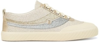 Bally Glitter Detailed Low-Top Sneakers