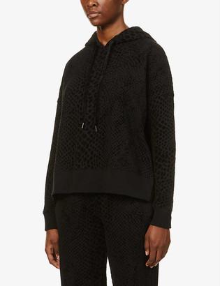 Rails Nico snake-print cotton-blend hoody