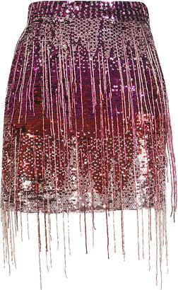 Amen Paill Embroidered Mini Skirt