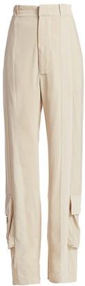 Bottega Veneta Cargo Pocket-Hem Pants