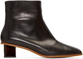 Robert Clergerie Black Preen Ankle Boots