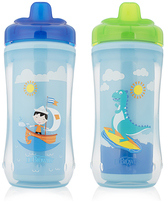Dr Browns Blue Sailboat 10-Oz. Hard-Spout Stage 3 Sippy Cup - Set of Two
