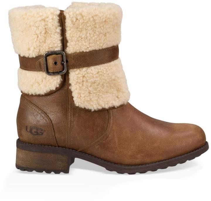 UGG Avalanche Blayre II Sheepskin & Leather Boots