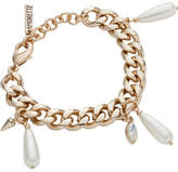 Amorette Pearl Charm Bracelet