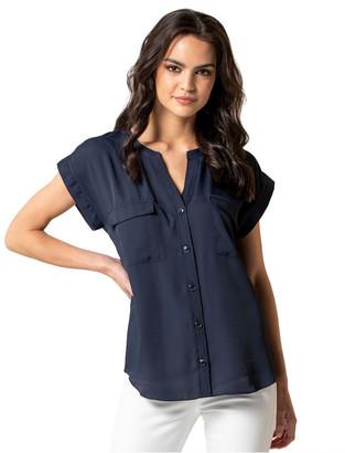 Forever New Alana Grown On Sleeve Utility Shirt