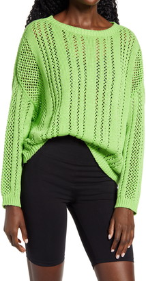 Cotton Emporium Open Stitch Sweater