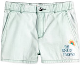 Roxy Edge of Embroidered Forever Cotton Shorts, Big Girls (7-16)