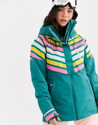 Roxy Frozen ski jacket in blue