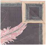 Hemisphere Lynk print scarf
