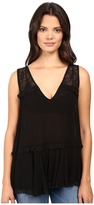 Free People Lace Trapeze Cami