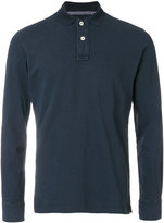 Eleventy long sleeved polo shirt - men - Cotton - L