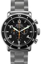 Shinola 48mm Limited Edition Black Blizzard Watch