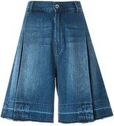 Diesel denim bermuda shorts