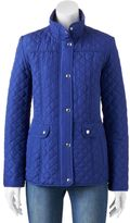 Weathercast Women's Weathercast Cinch-Back Quilted Jacket