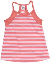 Erge Striped Camisole (Kid) - Neon Pink-Large