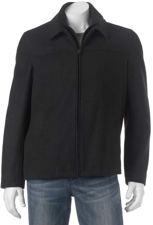 Dockers Big & Tall Wool-Blend Open-Bottom Jacket