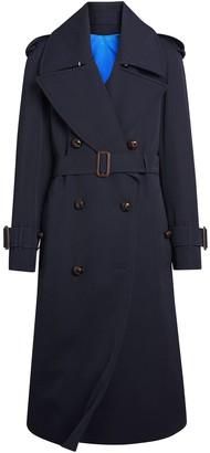 Burberry Oversized Lapel Gabardine trench coat