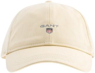 Gant Twill Cap Cream