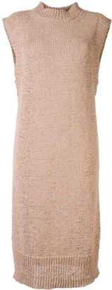 Rodebjer Chaima mock-neck sleeveless midi dress
