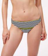 LOFT Beach Striped Bikini Bottom