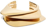 Charlotte Chesnais Ada Set Of Three Gold-dipped Cuffs - M