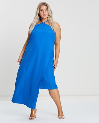 Atmos & Here Strapless Dress