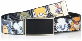 "Buckle Down Buckle-Down Men's Buckle-Down Web Belt Pokemon 1.5"""